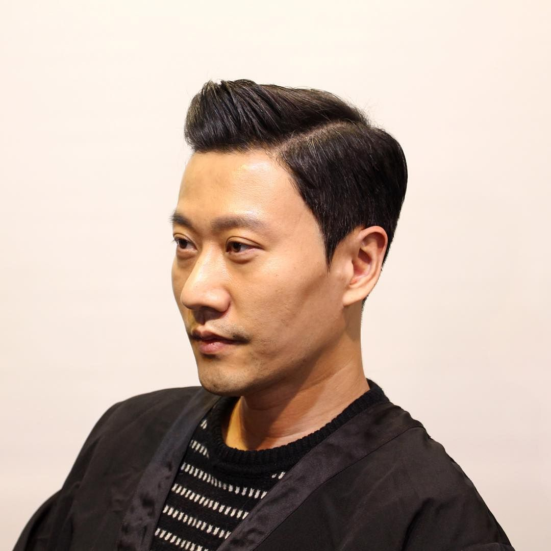 Receding Hairline  Hairstyles  for Korean MAN Classic