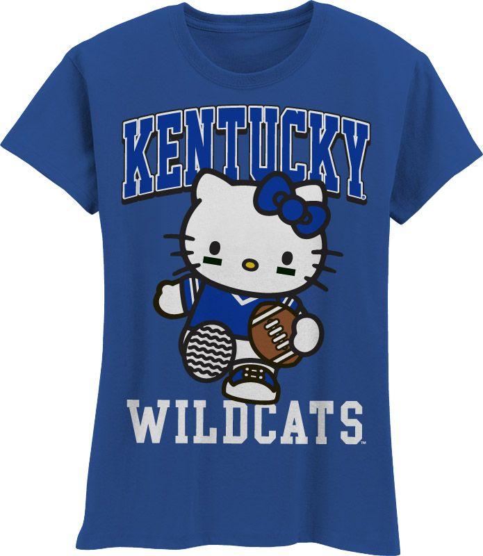 Cute Hello Kitty shirt for little Wildcats fans!  alumnihall.com