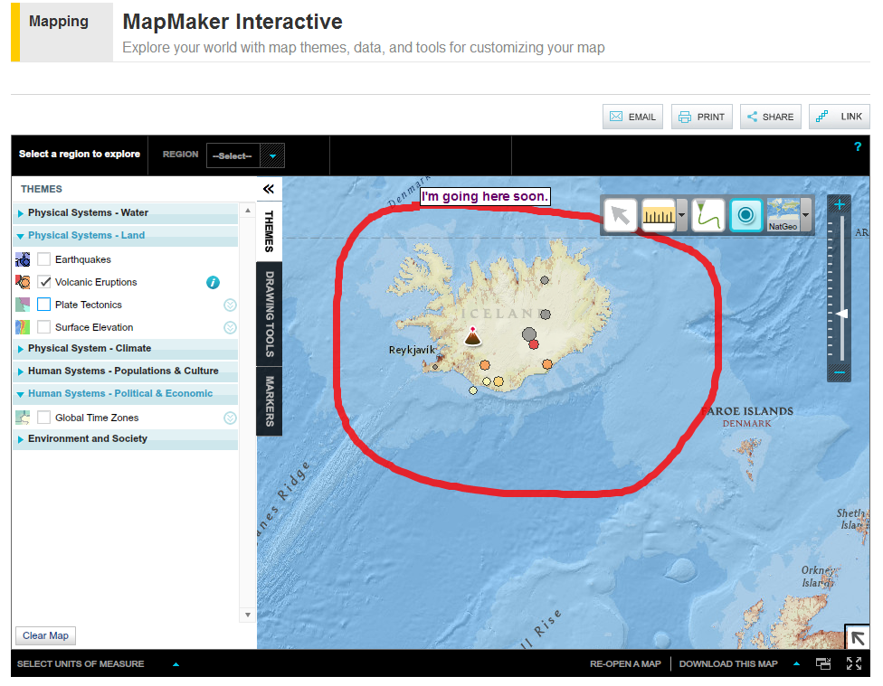 Create Thematic Maps With the National Geographic Map Maker | Math ...