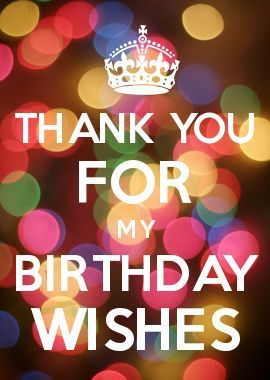 Thank yourthday wishes my quotes pinterest birthdays thank yourthday wishes m4hsunfo