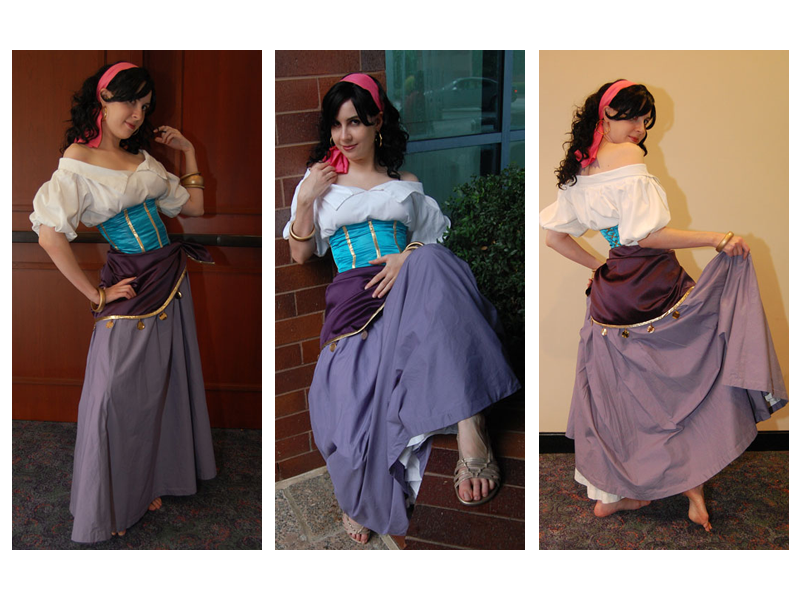 Google image result for httpthehunchblogwp content as esmeralda disney version costume cosplay solutioingenieria Choice Image