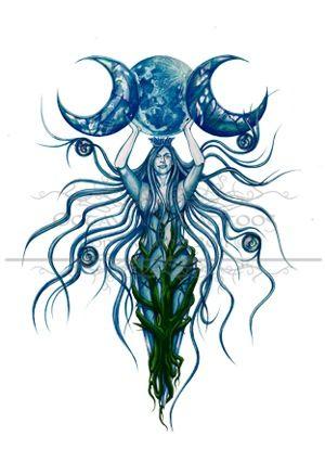 The Goddess Goddess Tattoo Wicca Tattoo Wiccan Tattoos