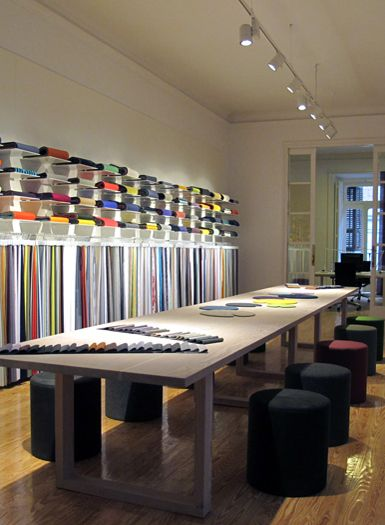 Kvadrat showroom by sisse thorsen via behance stands for Arquitectura y diseno stands 8 pdf