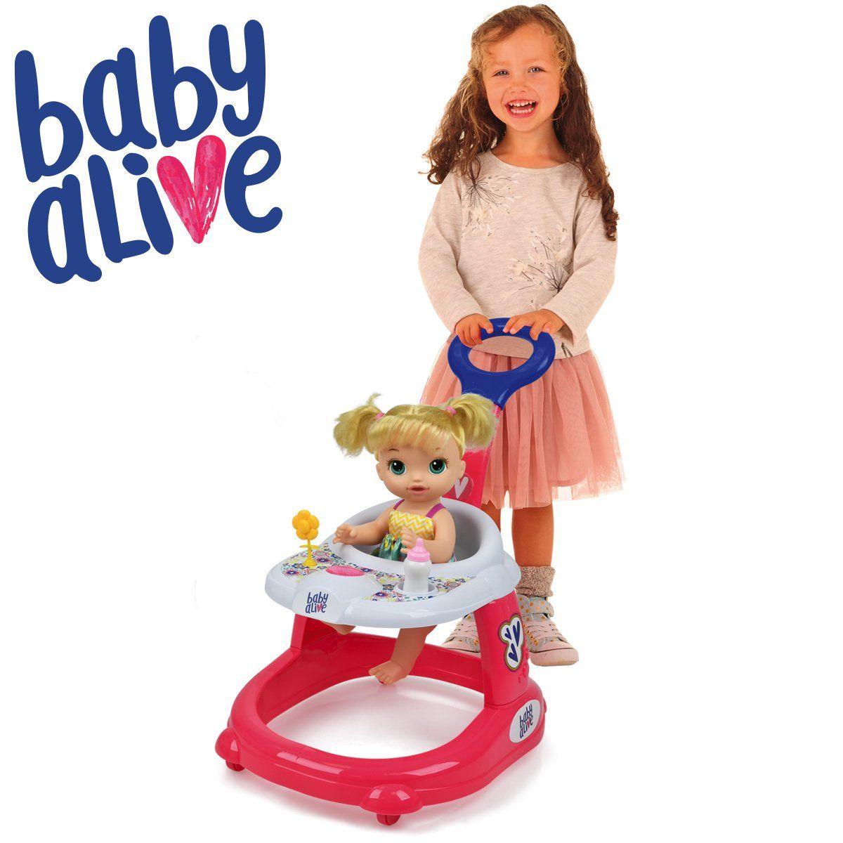 Baby Alive Doll Walker Walmart Com In 2020 Baby Alive Doll Clothes Baby Alive Dolls Baby Alive