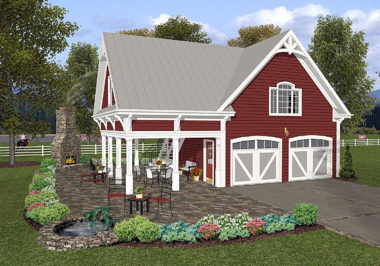 7 Delightful Floor Plans For Tiny Country Carriage Homes Farmhouse Style House Plans Carriage House Plans Farmhouse Style House