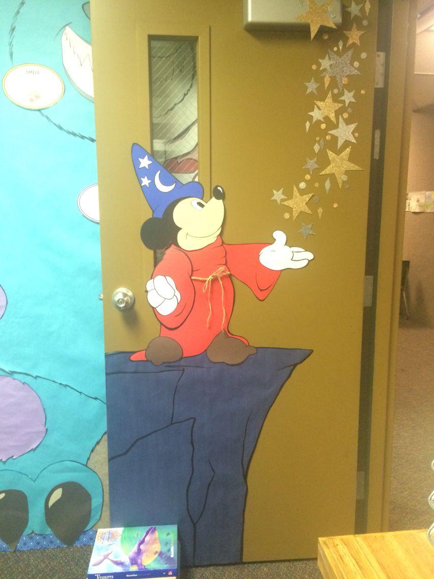 Disney\'s Mickey Mouse Classroom Door Decoration Idea.   Mickey Mouse ...