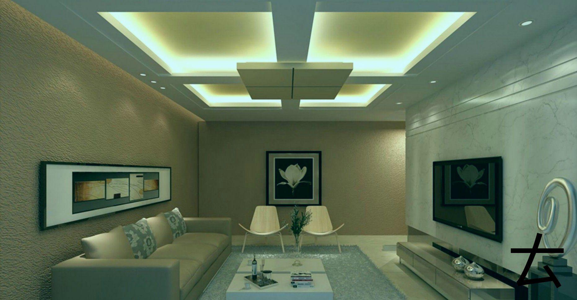 Modernes Gipskarton Design Fur Das Wohnzimmer Das Fur Gipskartondesign Gypsumceil Ceiling Design Living Room Ceiling Design Bedroom Ceiling Design Modern