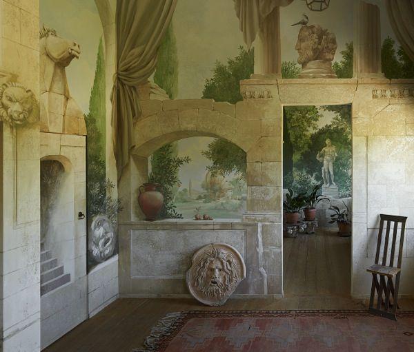 Painted Trompe Lu0027 Oeil Wall Mural At Villa Cau0027 Toga @Catoga Part 42