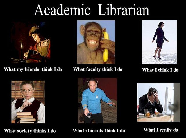 Academic Librarians What They Really Do With Images Library