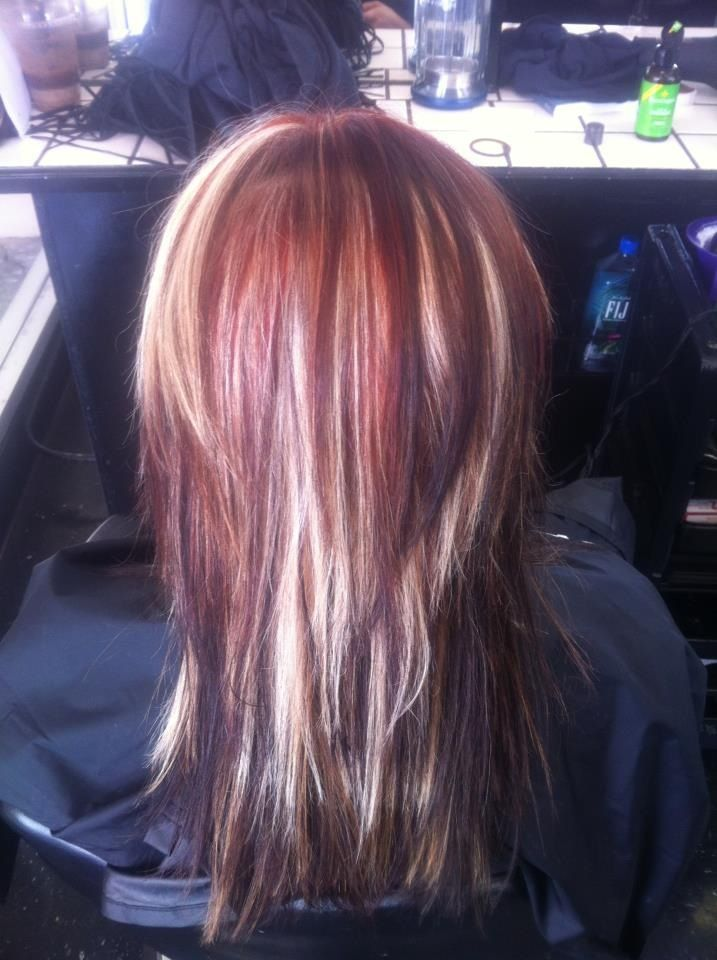 This is prolly what your hair would be with extensions colored the same.