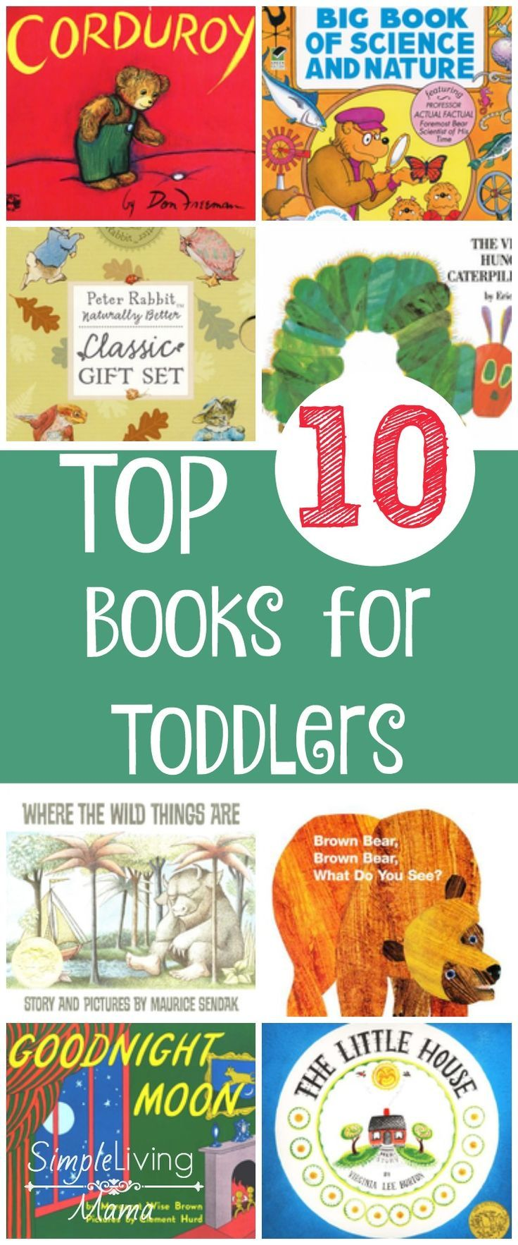 Top 10 Books For Toddlers Ages 2 3 Preschool Book Activities