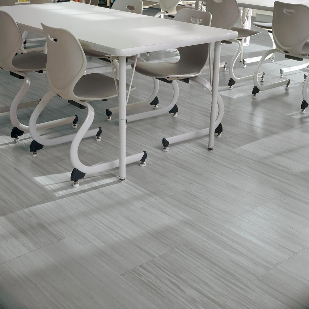 Armstrong Striations Bbt 12 In X 24 In Steel Commercial Vinyl Tile Flooring 44 Sq Ft Case T3602231 The Home Depot Vinyl Tile Flooring Vinyl Flooring Vinyl Tile