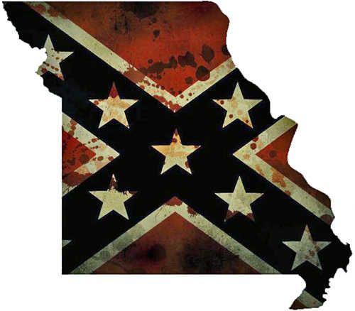 Missouri Confederate Flag Graphic