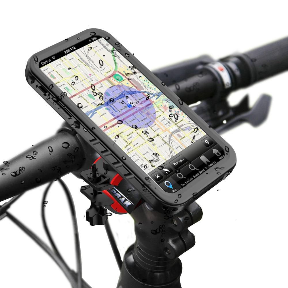 Waterproof Bicycle Phone Holder for iPhone xs max, XR, 6