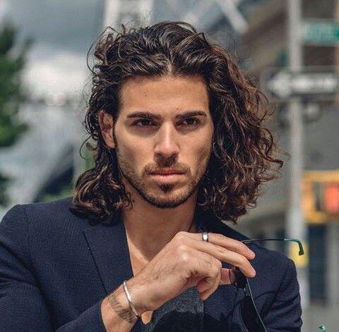 22++ Long curly hair men ideas in 2021