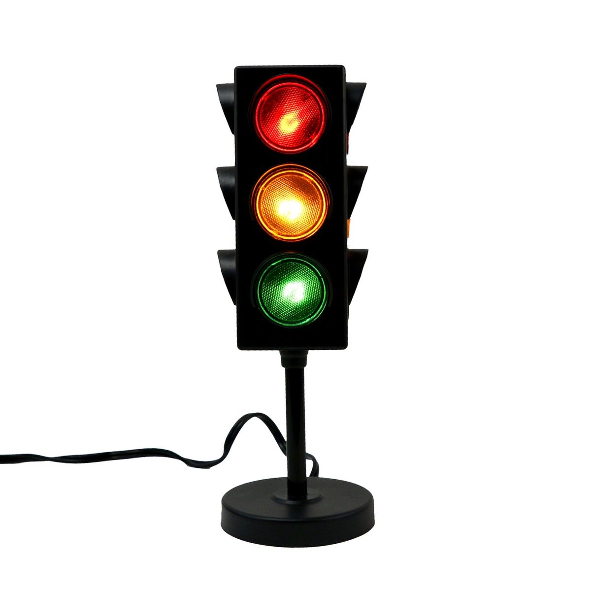 3 Color Traffic Light Desk Lamp Green Yellow Red Stop Signal Garage Shop Home Decor Walmart Com In 2020 Lamp Stop Light Desk Lamp
