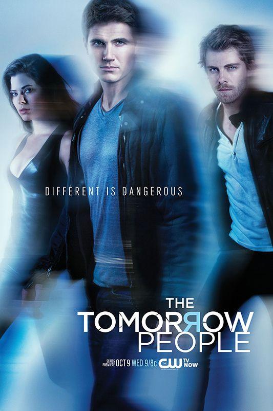 The Tomorrow People Season 1 Poster Thetomorrowpeople Top Des