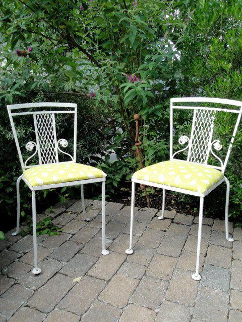 Salterini Patio Furniture Parts: Salterini Pair Of Chairs (Etsy $250.00)