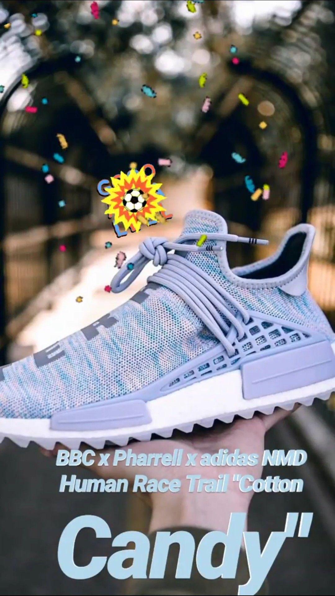 wholesale dealer a87bc ef67d BBC x Pharrell x adidas NMD Human Race Trail