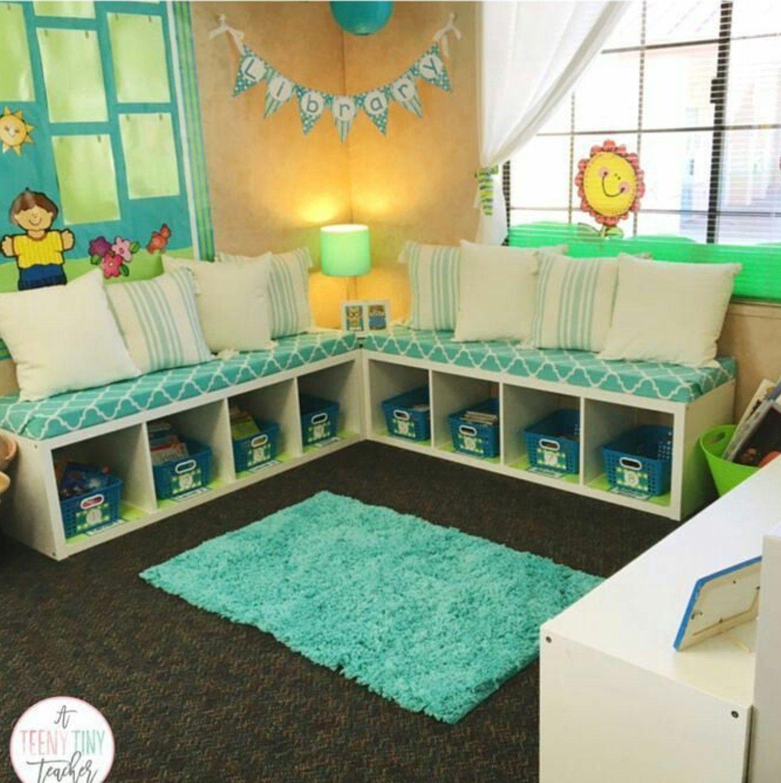 2 Ikea Regale als Sitzbänke Classroom design, Classroom