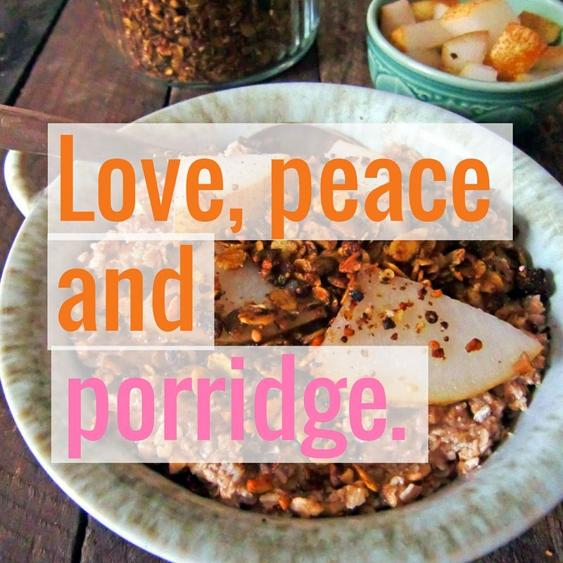 Gesundes Fruhstuck Gewurz Porridge Rezept Healthy Breakfasts