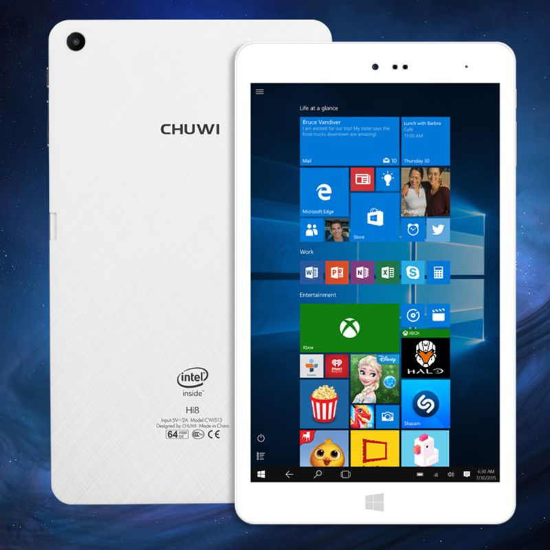 Captivating CHUWI Hi8 Pro Windows 10 + Android Tablet PC   8 Inch 1920x1200 Display, USB