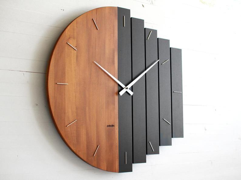Clock Wall Decor, Big Round Clock