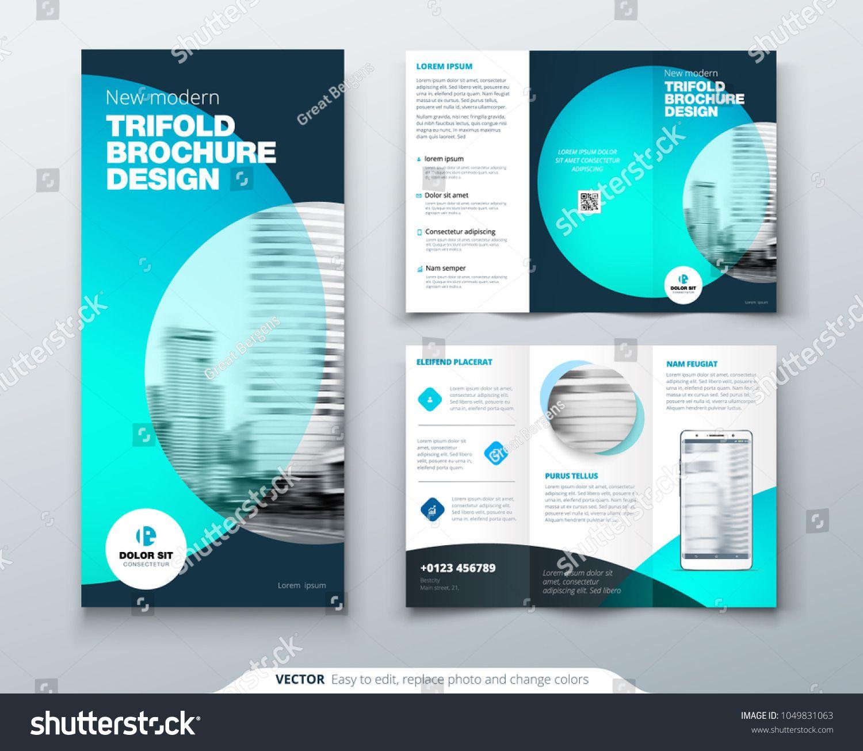 The Amazing Tri Fold Business Brochure Template Two Sided In One Sided Brochure Template Image Be In 2020 Trifold Brochure Template Brochure Template Business Brochure