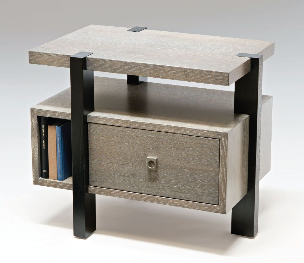 Side Table Modern Design.Contemporary Bedside Table Mezzanine Knowlton Brothers In