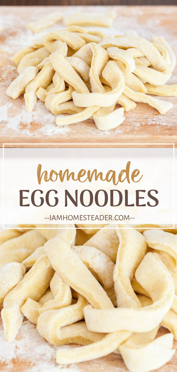 Photo of HOMEMADE EGG NOODLES