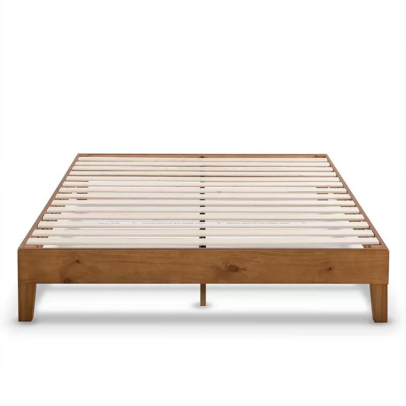 Harney Platform Bed Frame Wood Platform Bed Frame Queen Bed