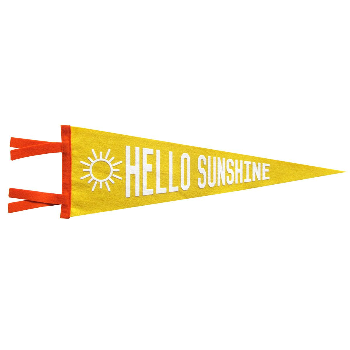 Hello sunshine pennant home nursery play room pinterest