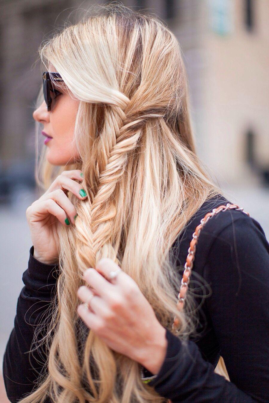 Épinglé par Audrey R. sur Hair & Beauty Coiffure facile