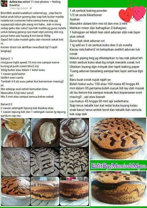 sukatan cawan resepi kek marble minyak resepi kek mentega sukatan cawan  confirm menjadi Resepi Kek Guna Tepung Gandum Enak dan Mudah