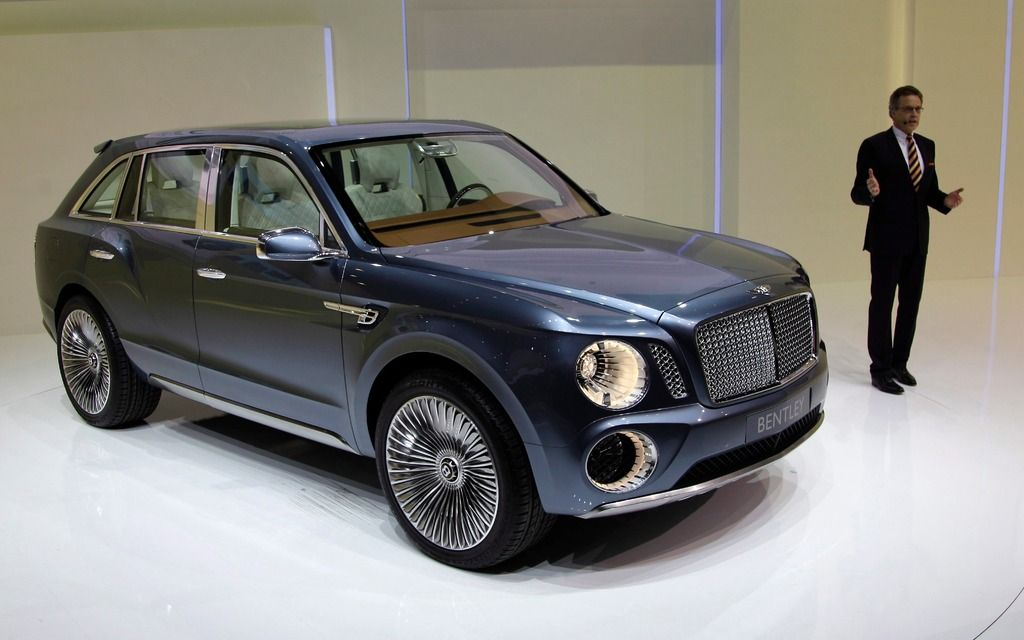 Future Bentley SUV Already Has 2000 Orders  New Models  2016