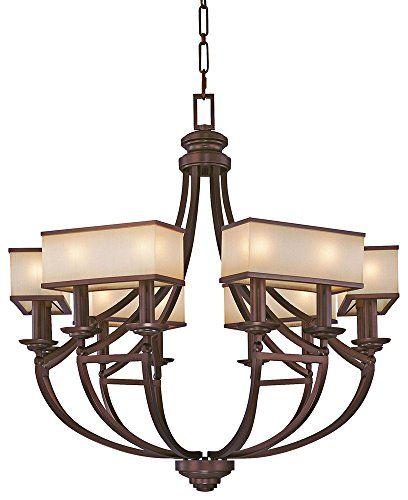 Metropolitan Walt Disney Signature-Underscore 12 Light Chandelier in Cimarron Bronze Metrolpolitan Lighting