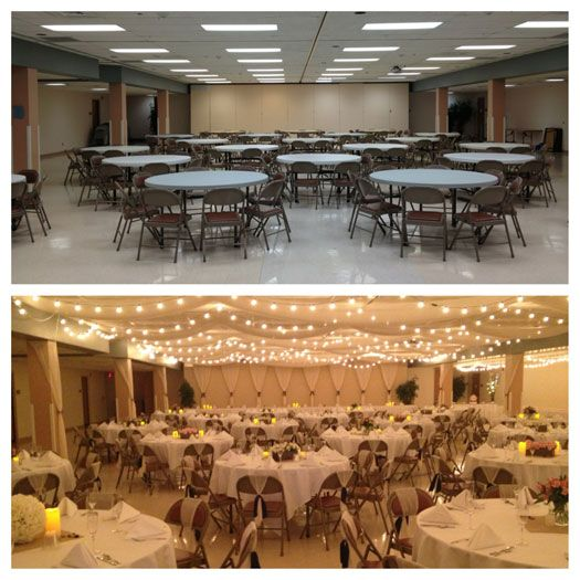 A Beautiful Reception On A Budget Hitch Studio Wedding Reception Hall Wedding Reception On A Budget Wedding Hall Decorations
