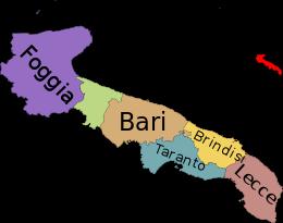 Cartina Puglia Con Province.Puglia Wikipedia Mappa Dell Italia Mappe Illustrate L Insegnamento Della Geografia