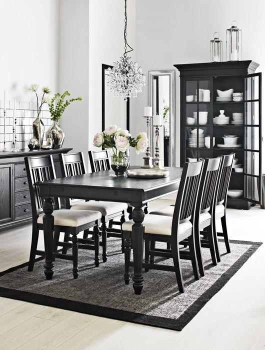 Bildresultat för matbord svart runt | Matbord, Inredning, Kök