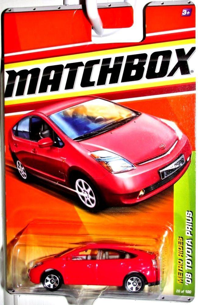 2008 Toyota Prius Matchbox 2010 Metro Rides 26 100 Red Matchbox