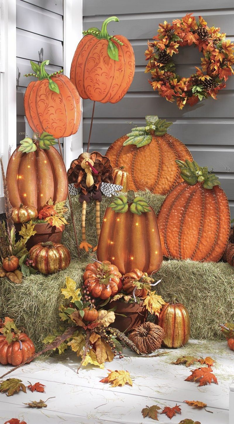 34+ Creative and Easy Ideas for DIY Fall Rustic