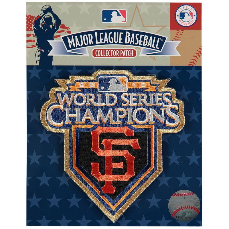 "San Francisco Giants 4.5"" x 4.75"" 2010 World Series Champions Patch"