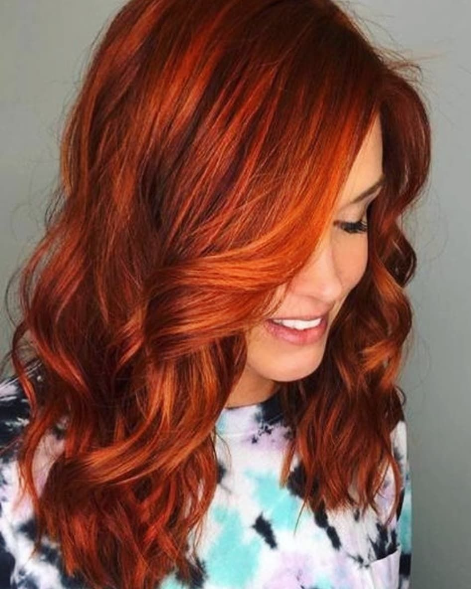 New The 10 Best Hairstyles Today With Pictures Menhaircuts Diyhairstyles Braidhair Haircut H Bright Copper Hair Balayage Hair Copper Copper Hair Color