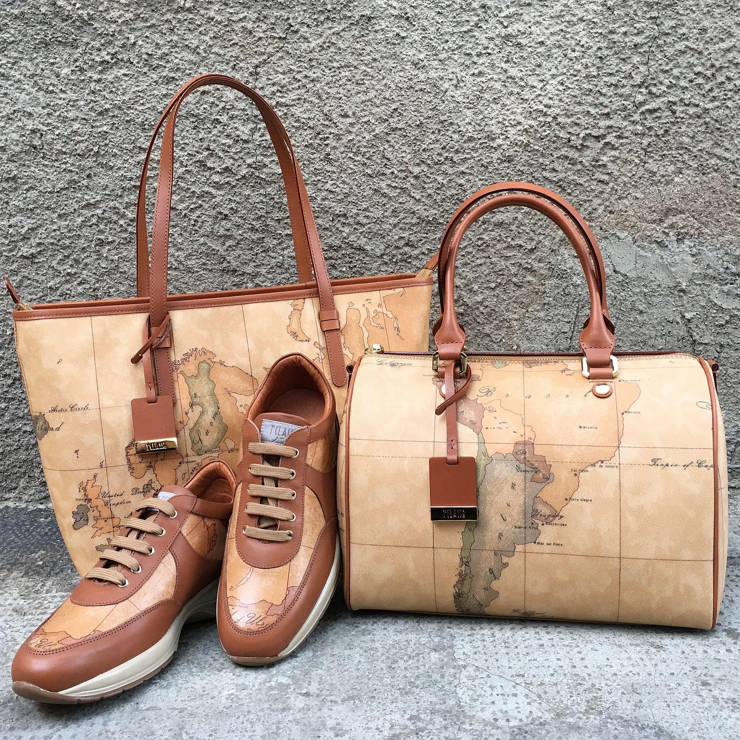 b79605b16f Shopping Bag, geo crossing shoes & bauletto Alviero Martini 1^ Classe. Shop  on