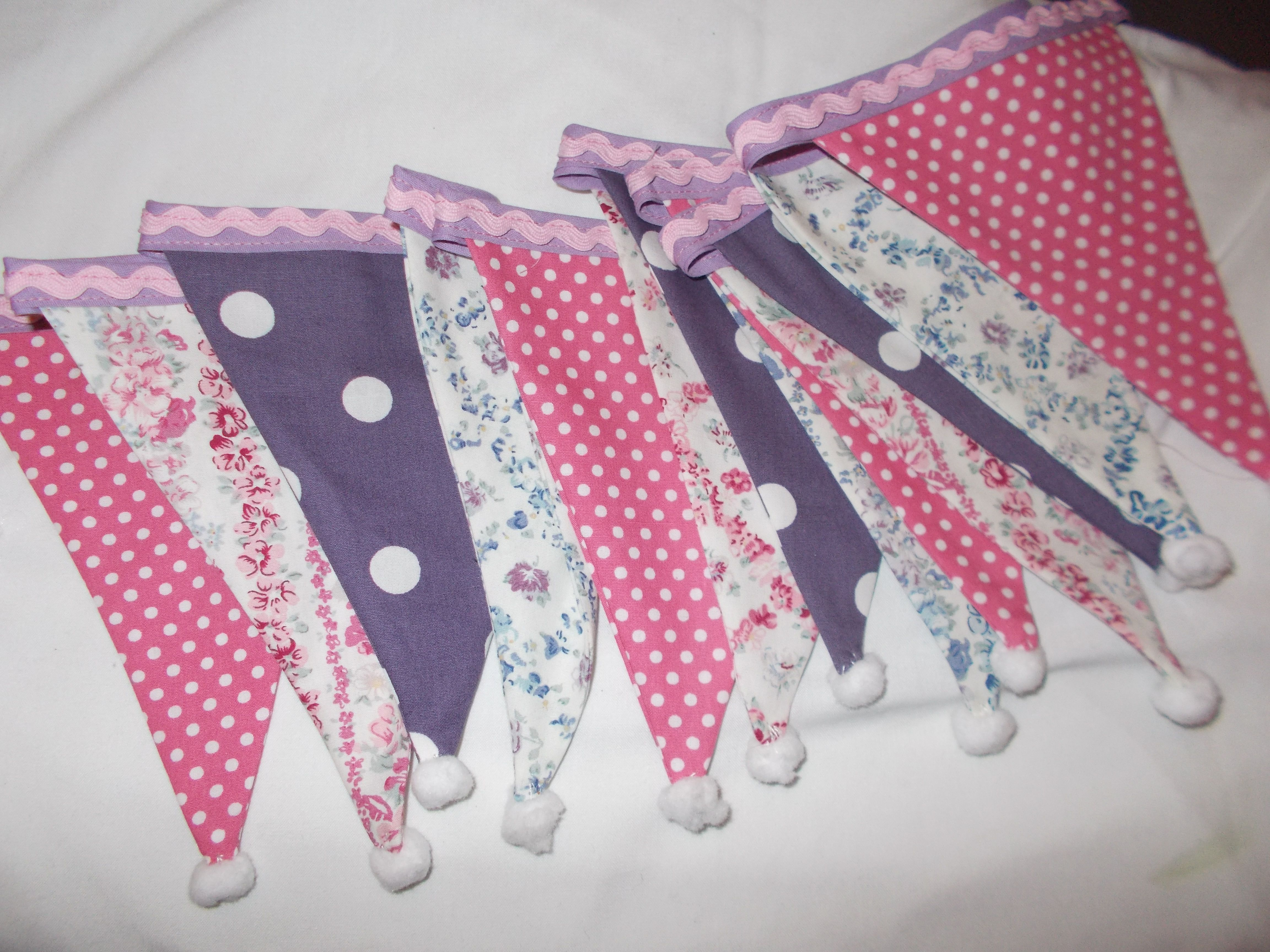 bunting for a little girls room