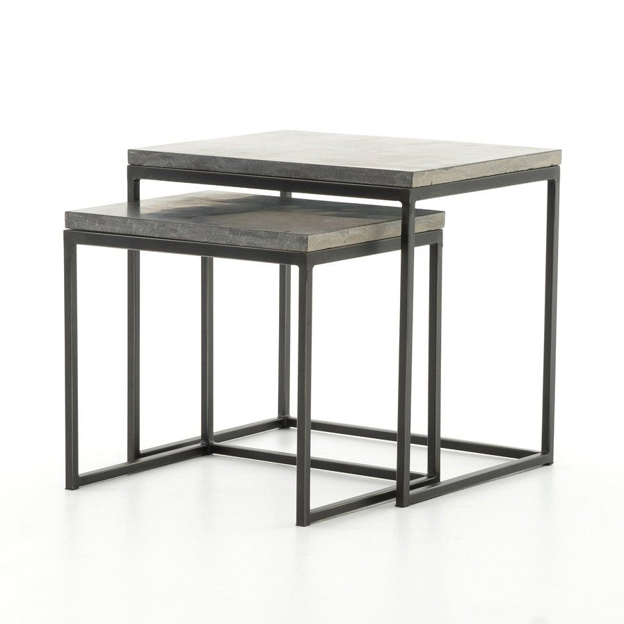 Donati 2 Piece Nesting Tables | Great Room | Pinterest | Tables and Room