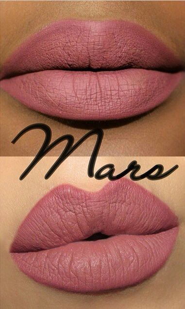 Coloured Raine Matte Lip Paint In Mars. *WAITING TO