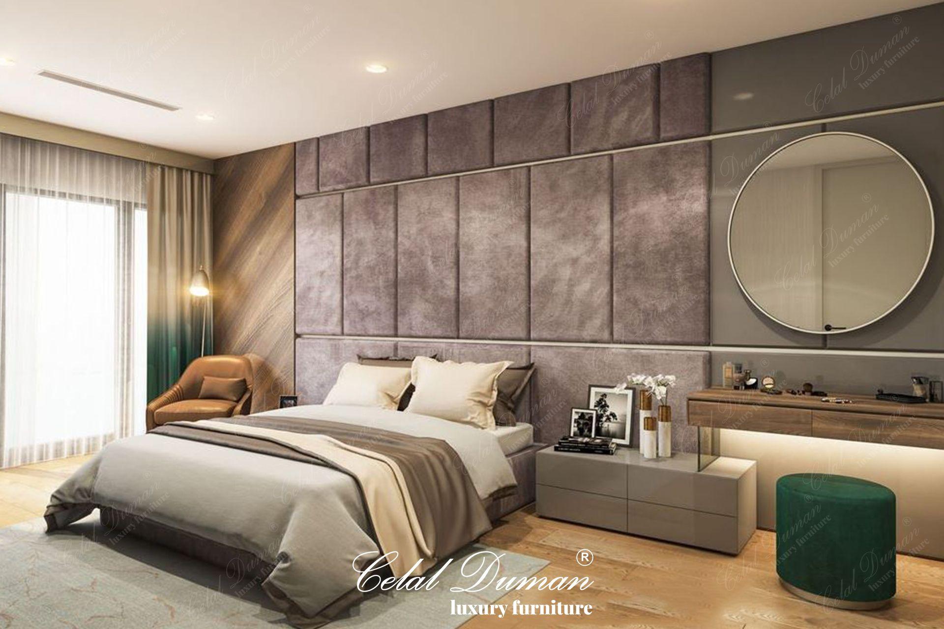 Celal Duman Mobilya kalitesiyle dizayn edilen yatak odası mobilya dekorasyon projemiz. #celalduman #celaldumanmobilya #mobilya #masko #koltuktakımı #yemekodası #maskomobilyakenti #evdekorasyon #dekorasyonfikirleri #mobilyadekorasyon #luxuryfurniture #modernfurniture #furniture #decor #ofisdekorasyon #evdekor #projects #köşekoltuk #tvunited #design #yemekodası #yatakodası #interiordesign