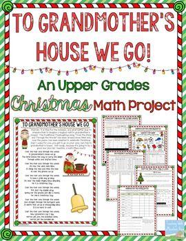 Christmas Math Project | New Teachers | Christmas math, Math