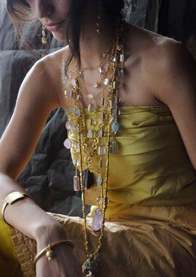 Pippa Small is the world best jewelry designer Leis with aloha